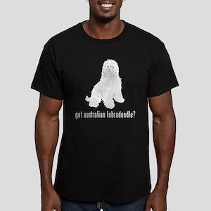 Australian Labradoodle Men's Fitted T-Shirt (dark)