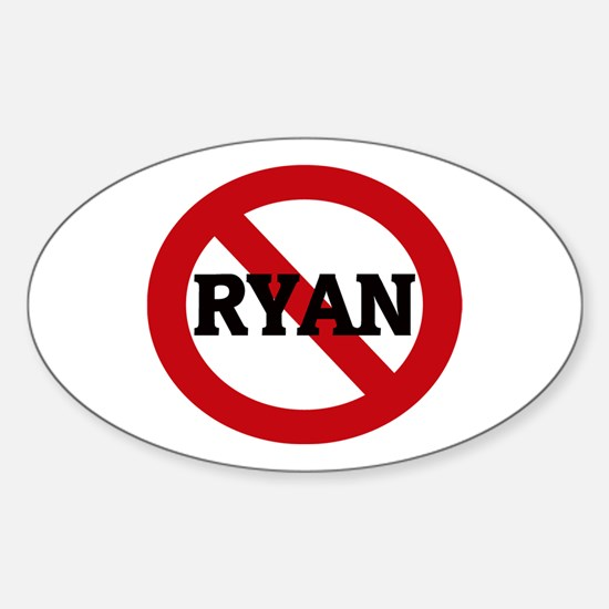 Anti-Ryan Oval Decal
