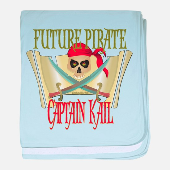 Captain Kail Infant Blanket