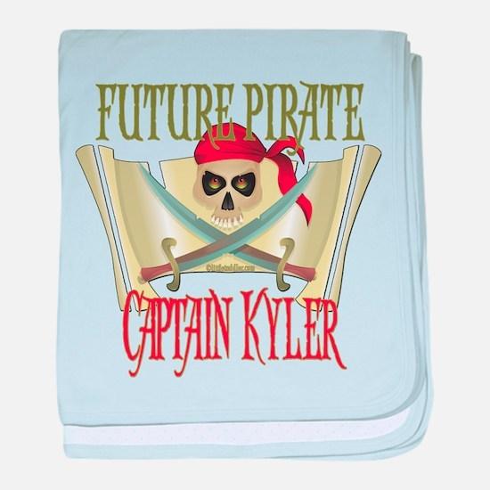 Captain Kyler Infant Blanket