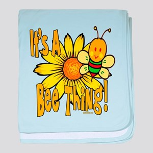 It's A Bee Thing Infant Blanket