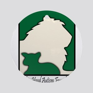 Robin Hood Autism Foundation Ornament (Round)