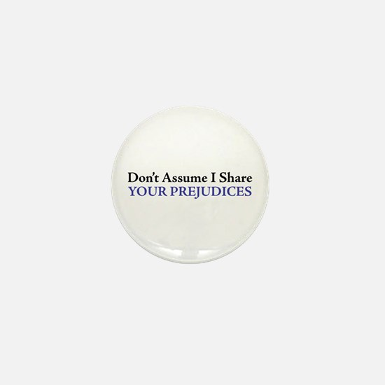 Don't Assume Mini Button