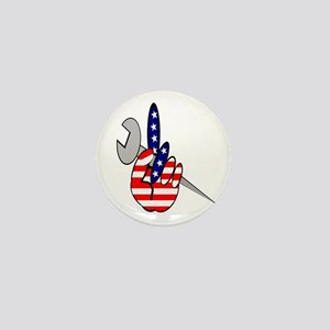 ALL AMERICAN IRONWORKERS Mini Button