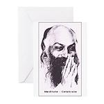 Meditate-Celebrate Greeting Cards (Pk of 10)