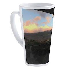 Maui Mountains 17 oz Latte Mug