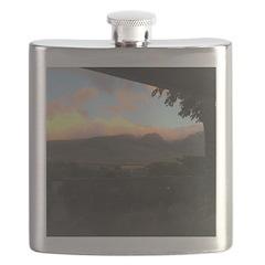 Maui Mountains Flask