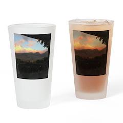 Maui Mountains Drinking Glass