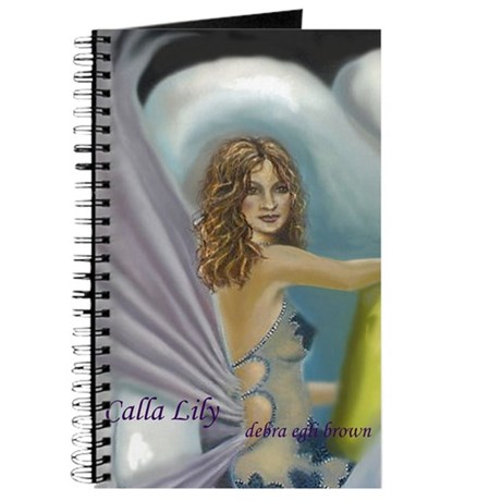 """""""Calla Lily"""" Journal"""