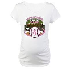 Dont Let Cancer Steal 2nd Base Shirt