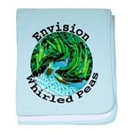 Envision Whirled Peas baby blanket