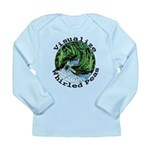 Visualize Whirled Peas Long Sleeve Infant T-Shirt
