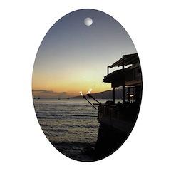 Maui Restaurant at Sunset Oval Ornament