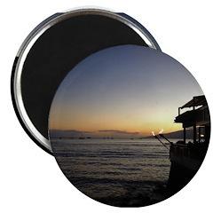 Maui Restaurant at Sunset Magnets