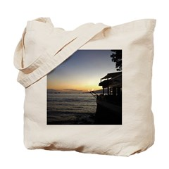 Maui Restaurant at Sunset Tote Bag