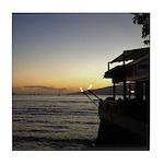 Maui Restaurant at Sunset Tile Coaster