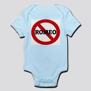 Anti-Romeo Infant Creeper