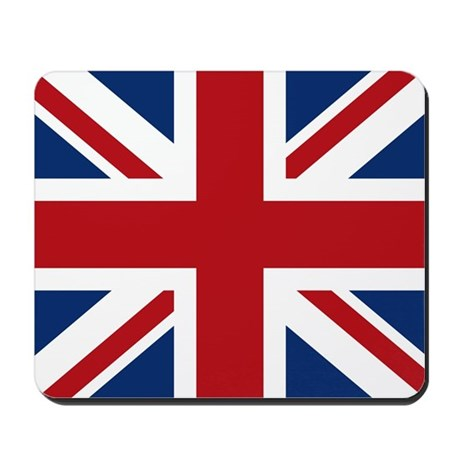 United Kingdom Union Jack Flag Mousepad