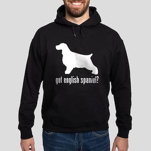 English Spaniel Hoodie (dark)