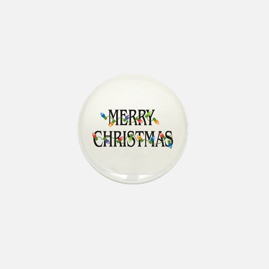 Merry Christmas Mini Button (10 pack)