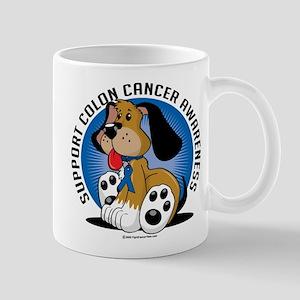 Colon Cancer Dog Mug