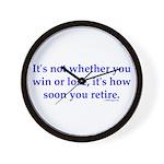 Retirement Wall Clock