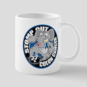 Stomp Out Colon Cancer Mug