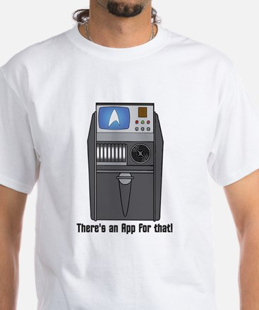 There's an App for that! T-Shirt (white)