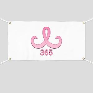 Pink Ribbon 365 Banner