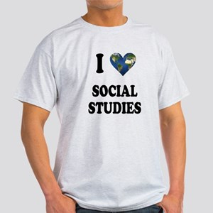 I Love School Shirts Gifts Light T-Shirt