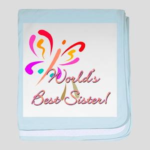 Worlds Best Sister Infant Blanket