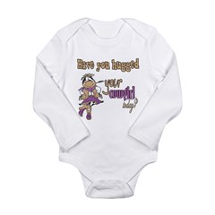 Hugged Your Cowgirl? Long Sleeve Infant Bodysuit