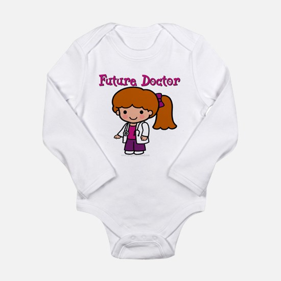 Future Doctor Long Sleeve Infant Bodysuit