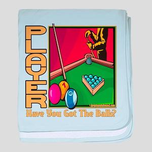 Pool Player Infant Blanket