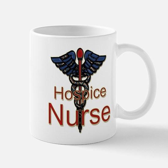 CAD. Hospice Nurse Mugs