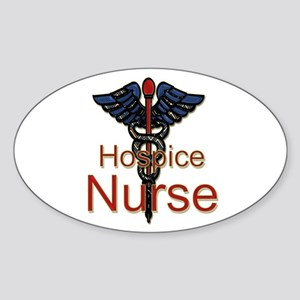 CAD. Hospice Nurse Sticker