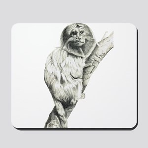 Golden Marmoset Mousepad