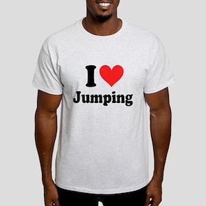 I Heart Jumping: Light T-Shirt