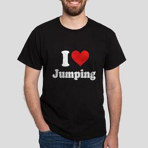 I Heart Jumping: Dark T-Shirt