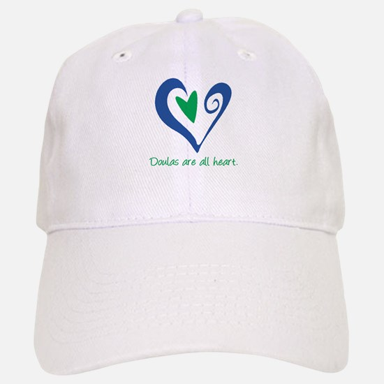 Doulas All Heart Green Baseball Baseball Cap