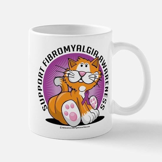 Support Fibromyalgia Cat Mug