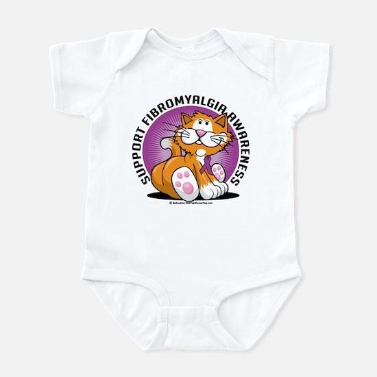 Support Fibromyalgia Cat Infant Bodysuit