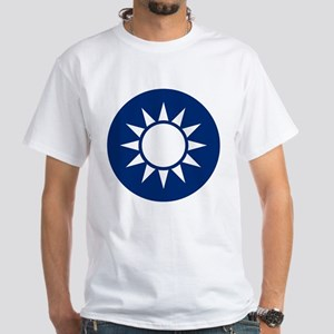 Taiwan Coat of Arms White T-Shirt