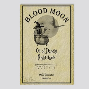 Blood Moon Potions Halloween Postcards (Package of