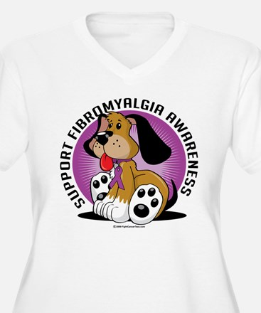 Fibromyalgia Dog T-Shirt