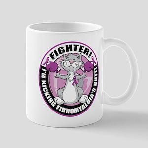Fibromyalgia Cat Fighter Mug