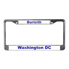 Burleith License Plate Frame