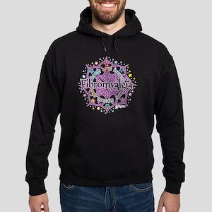 Fibromyalgia Lotus Hoodie (dark)