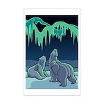 Polar Bear Mini Poster Print