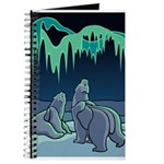 Polar Bear Journal Bear Art Notebook